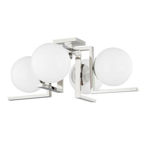Hudson Valley Lighting 5084 Tanner - 4 Light Flush Mount in Contemporary/Modern Style - 27 Inches Wide by 10.25 Inches High