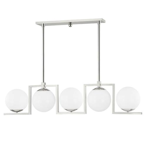 Hudson Valley Lighting 5086 Tanner - 5 Light Island in Contemporary/Modern Style - 7.5 Inches Wide by 15.25 Inches High