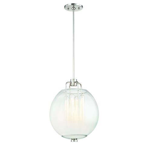 Hudson Valley Lighting 5712 Sawyer 4-W Pendant - 12.25 Inches Wide by 15 Inches High