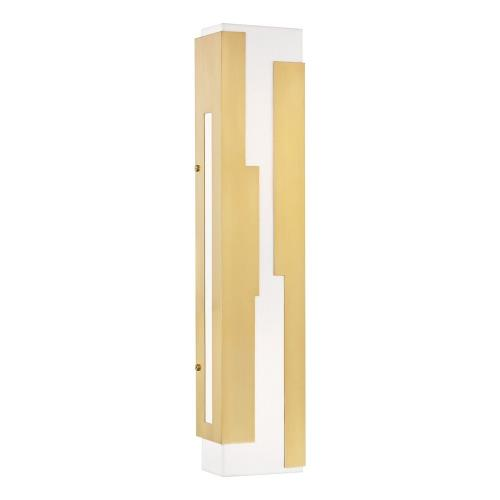 Hudson Valley Lighting 6026 Acadia - 26 Inch 15W 1 LED Wall Sconce in Modern Style - 5.5 Inches Wide by 26 Inches High