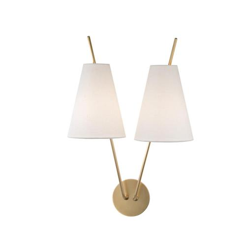 Hudson Valley Lighting 6322 Milan - Two Light Wall Sconce - 14 Inches Wide by 22 Inches High