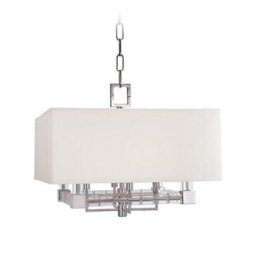 Hudson Valley Lighting 7120 Alpine - Four Light Pendant - 20 Inches Wide by 17.5 Inches High