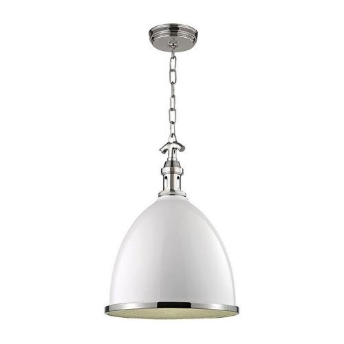 Hudson Valley Lighting 7714 Viceroy One Light Small Pendant - 12.75 Inches Wide by 17.75 Inches High