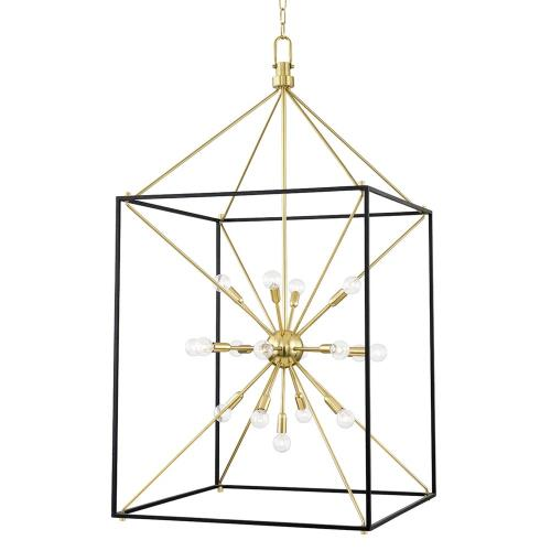 Hudson Valley Lighting 8927 Glendale - 25 Light Chandelier in Contemporary/Modern Style - 27 Inches Wide by 51.5 Inches High
