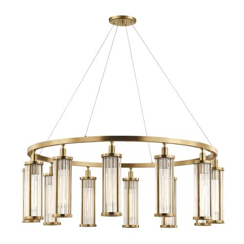 Hudson Valley Lighting 9142 Marley 12-Light Pendant - 42.5 Inches Wide by 15 Inches High