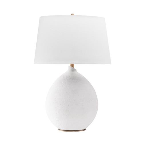 Hudson Valley Lighting L1361 Denali Transitional 1 Light Table Lamp in Transitional Style - 19 Inches Wide by 28.5 Inches High
