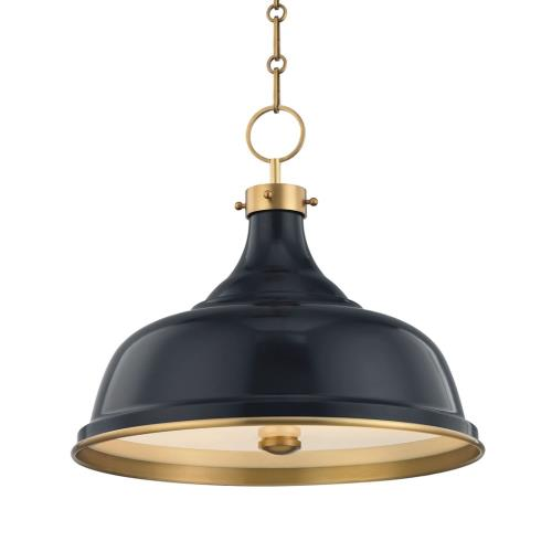 Hudson Valley Lighting MDS300 Painted No.1 - 3 Light Pendant - 18 Inches Wide by 16 Inches High