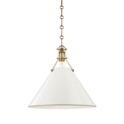 Hudson Valley Lighting MDS35 Painted No.2 - 1 Light Pendant - 16 Inches Wide by 14.5 Inches High