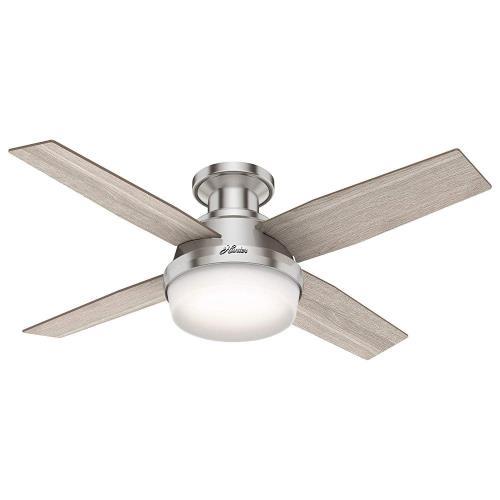 Hunter Fans 50282 Dempsey - 44 Inch Ceiling Fan with Light Kit