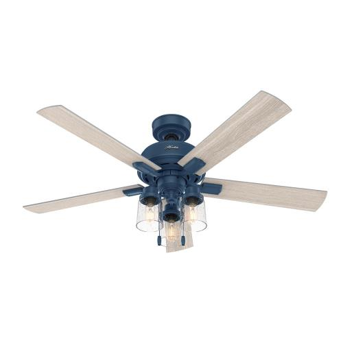 Hunter Fans 5031 Hartland - 52 Inch Ceiling Fan with Light Kit and Pull Chain