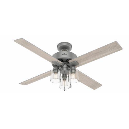 Hunter Fans 5032 Pelston - 52 Inch Ceiling Fan with Light Kit