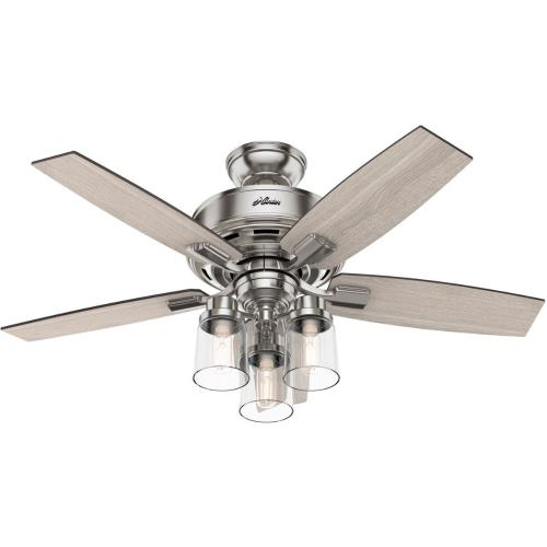 """Hunter Fans 5041 Bennett 44"""" Ceiling Fan with LED Light and Handheld Remote"""