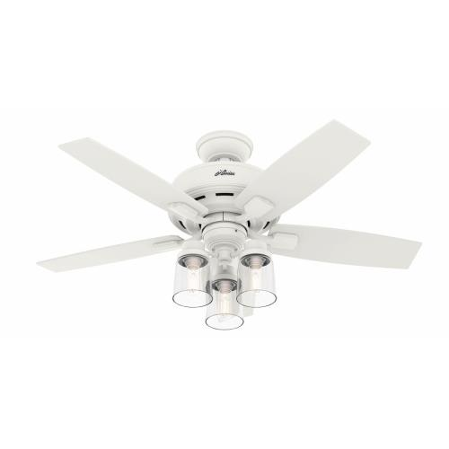Hunter Fans 50418 Bennett - 44 Inch 5 Blade Ceiling Fan with Light Kit and Handheld Remote