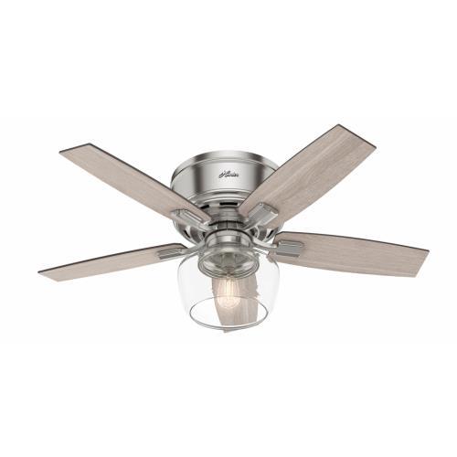 Hunter Fans 5042 Bennett - 44 Inch Low Profile Ceiling Fan with Light Kit