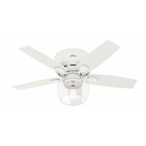 Hunter Fans 5042 Bennett - 44 Inch Low Profile Ceiling Fan with Light Kit