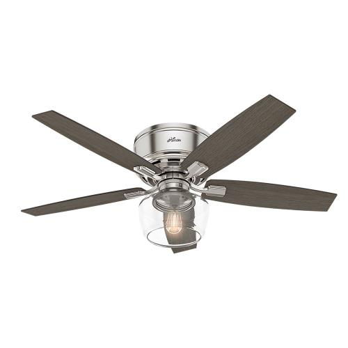 Hunter Fans 5339-52 Bennett-Ceiling Fan with Light Kit-52 Inches Wide by 15.95 Inches High