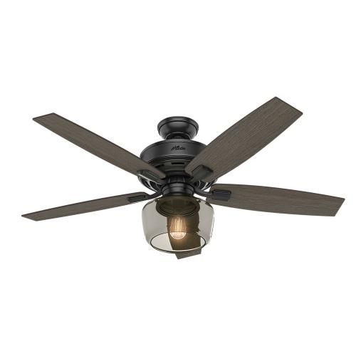 Hunter Fans 5418-G Bennett - 52 Inch Ceiling Fan with Globe Light Kit