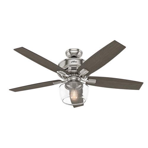 Hunter Fans 5418-G Bennett - 52 Inch Ceiling Fan with Globe Light Kit
