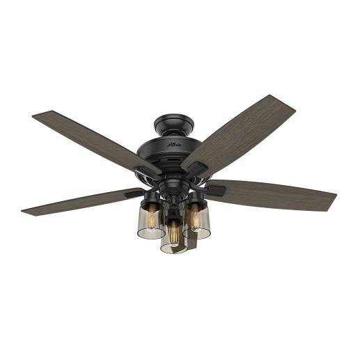Hunter Fans 5418-B Bennett - 52 Inch Ceiling Fan with Light Kit