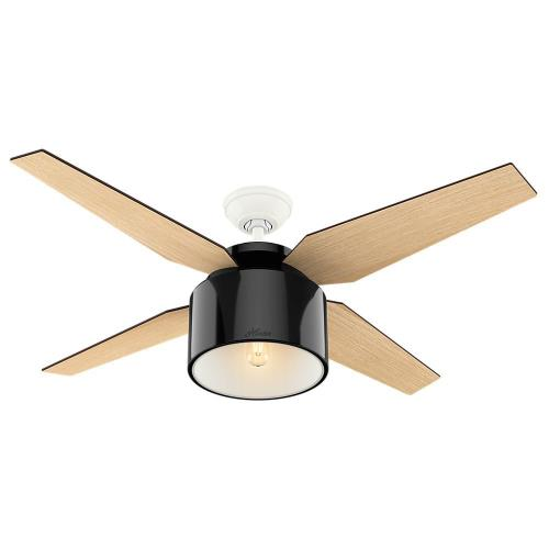 "Hunter Fans 59257CRAN Cranbrook - 52"" Ceiling Fan with Light Kit"