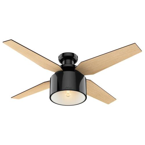 Hunter Fans 59259 Crawford - 52 Inch Ceiling Fan with Light Kit