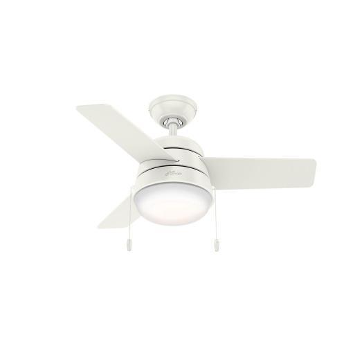 Hunter Fans 59301 Aker - 36 Inch Ceiling Fan with Light Kit
