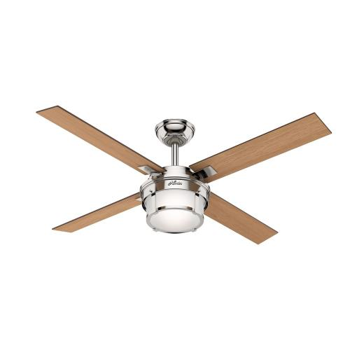 Hunter Fans 593P Maybeck - 52 Inch Ceiling Fan with Light Kit