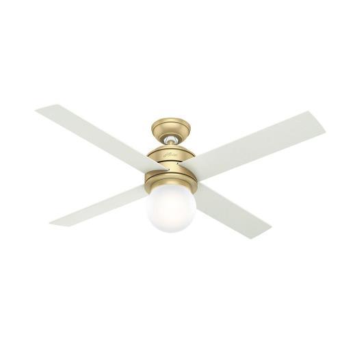Hunter Fans 59320 Hepburn - 52 Inch Ceiling Fan with Light Kit