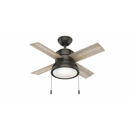 Hunter Fans 59385-LK Loki - 36 Inch Ceiling Fan with Light Kit