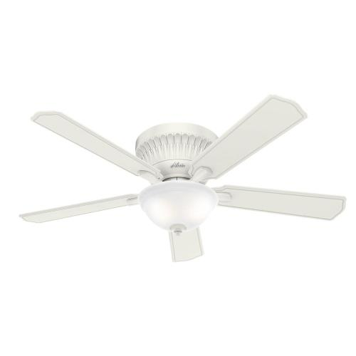 Hunter Fans 5954-C54CFLK Chauncey - 54 Inch Ceiling Fan with Light Kit