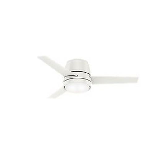 Hunter Fans 59544CF Commodus-Ceiling Fan with Light Kit in Modern Style-44 Inches Wide by 10.96 Inches High