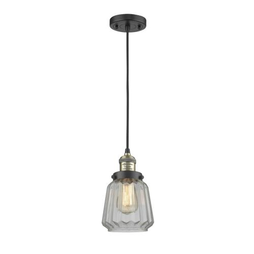 Innovations Lighting 201C-G14 Chatham - 11 Inch 1 Light Mini Pendant