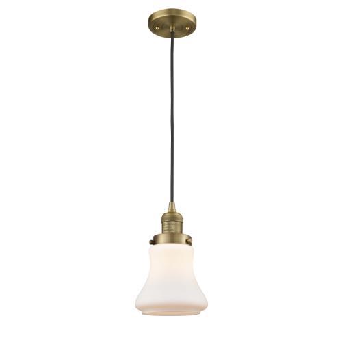 Innovations Lighting 201-G19 Bellmont - 10 Inch 1 Light Mini Pendant