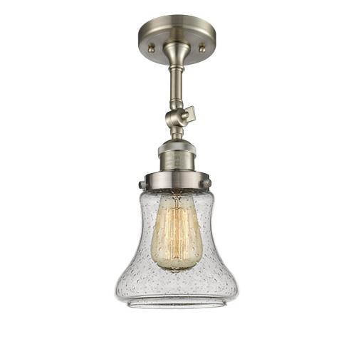 Innovations Lighting 201F-Be Bellmont - One Light Semi-Flush Mount