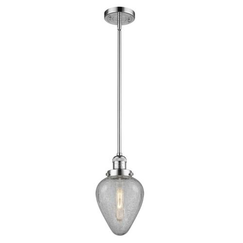 Innovations Lighting 201S-G165 Geneseo - 8.5 Inch 1 Light Mini Pendant