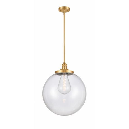 Innovations Lighting 201S-SG-G202-14-LED Beacon - 14 Inch 3.5W 1 LED Pendant