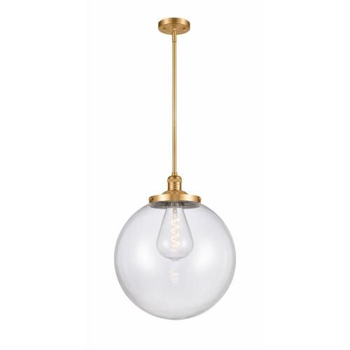 Innovations Lighting 201S-16-LED Beacon-3.5W 1 LED Pendant in Industrial Style-16 Inches Wide by 17 Inches High