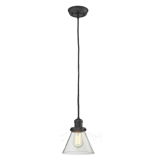 Innovations Lighting 201C-G4 One Light Large Cone Cord Pendant