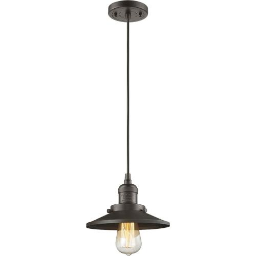 Innovations Lighting 201C-M One Light Railroad Cord Pendant
