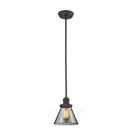 Innovations Lighting 201S-G6 One Light Small Cone Stem Pendant