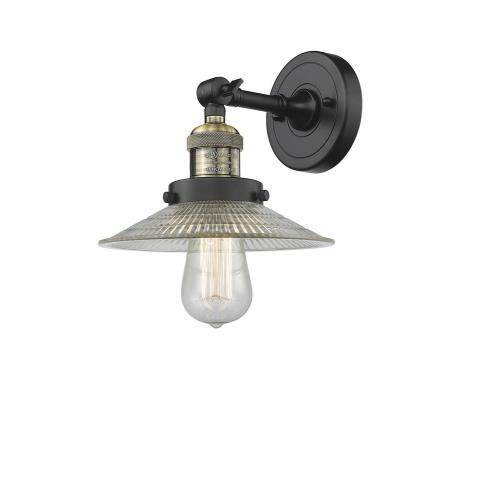 Innovations Lighting 203-G1 Halophane - 8 Inch 1 Light Wall Sconce