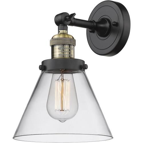 Innovations Lighting 203-G4 Large Cone - 10 Inch 1 Light Wall Sconce