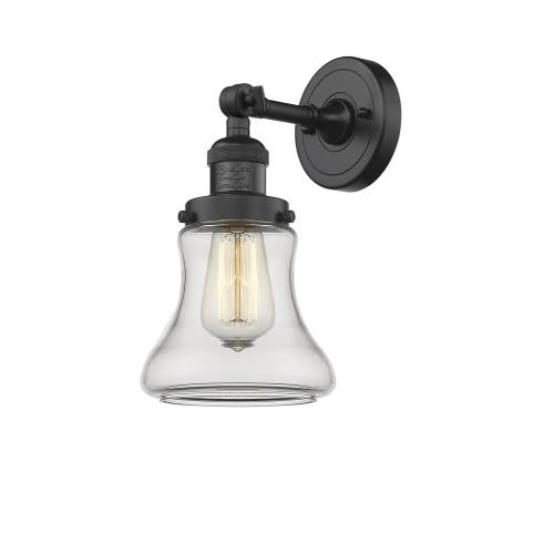 Innovations Lighting 203-G19 Bellmont-1 Light Wall Sconce in Industrial Style-6.5 Inches Wide by 11 Inches High