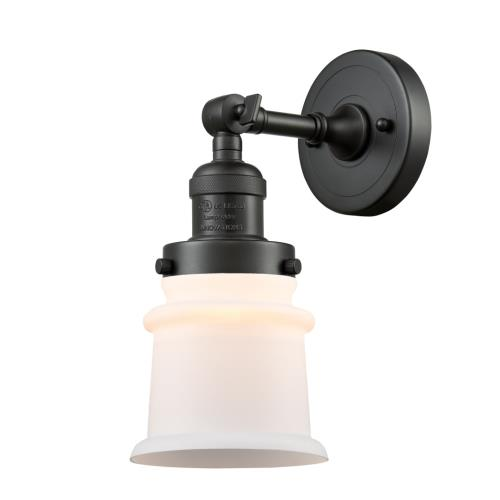 Innovations Lighting 203-G18S Small Canton - 11 Inch 1 Light Wall Sconce