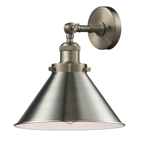 Innovations Lighting 203-Br Briarcliff-One Light Wall Sconce-10 Inches Wide by 8 Inches High