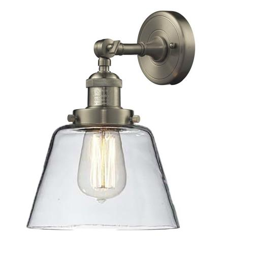 Innovations Lighting 203-G6 Small Cone - 10 Inch 1 Light Wall Sconce