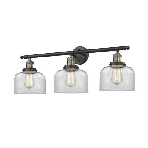 Innovations Lighting 205-G7 Large Bell - 32 Inch 3 Light Bath Vanity