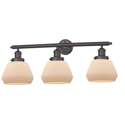 Innovations Lighting 205-Fu Fulton - Three Light Wall Bracket