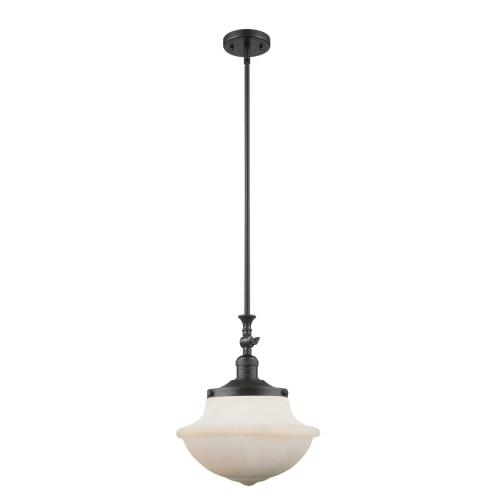 Innovations Lighting 206-G54-LED Large Oxford-3.5W 1 LED Mini Pendant in Traditional Style-12 Inches Wide by 15 Inches High