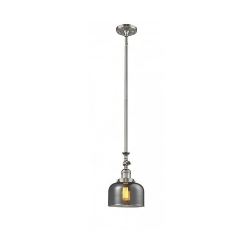 Innovations Lighting 206-G7 Large Bell-1 Light Mini Pendant-8 Inches Wide by 14 Inches High